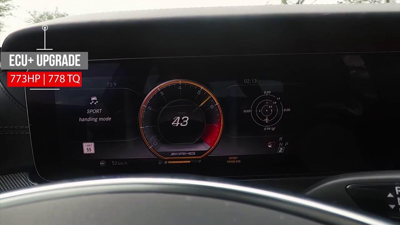 1/4 mile 773 HP RennTech Mercedes E63 S AMG 4MATIC+ ECU upgrade