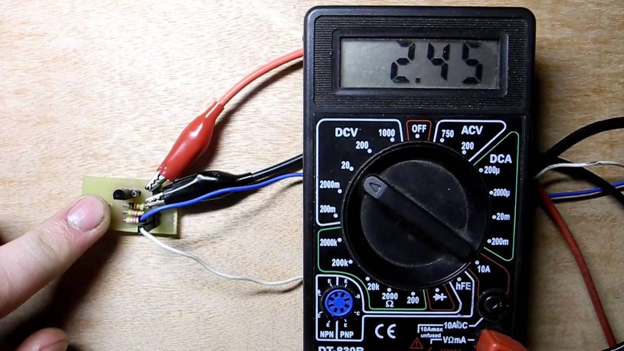 kia 7805a как проверить тестером