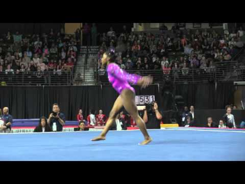 Simone Biles (USA) - Floor - 2016 Pacific Rim Championships Team/AA Final