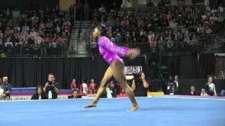 Simone Biles (USA) - Floor - 2016 Pacific Rim Championships Team/AA Final