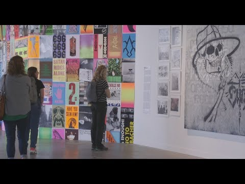 Download 'Beyond the Streets' exhibit showcases street art Mp4 baru