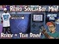 Retro SouljaBoy Mini Handheld Review & Teardown! Soulja Boy Says Everything Is Legit!