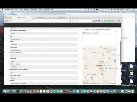 Virtual Insurance Agent Demo on IBM Bluemix (Part 1)