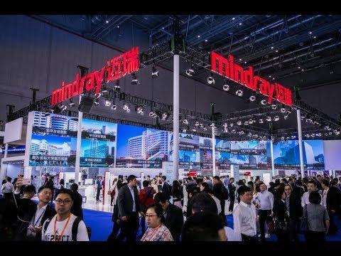 Mindray at CMEF Shanghai 2018