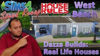 "Sims4 House Rules TV Builds: 4: ""West Beach"""