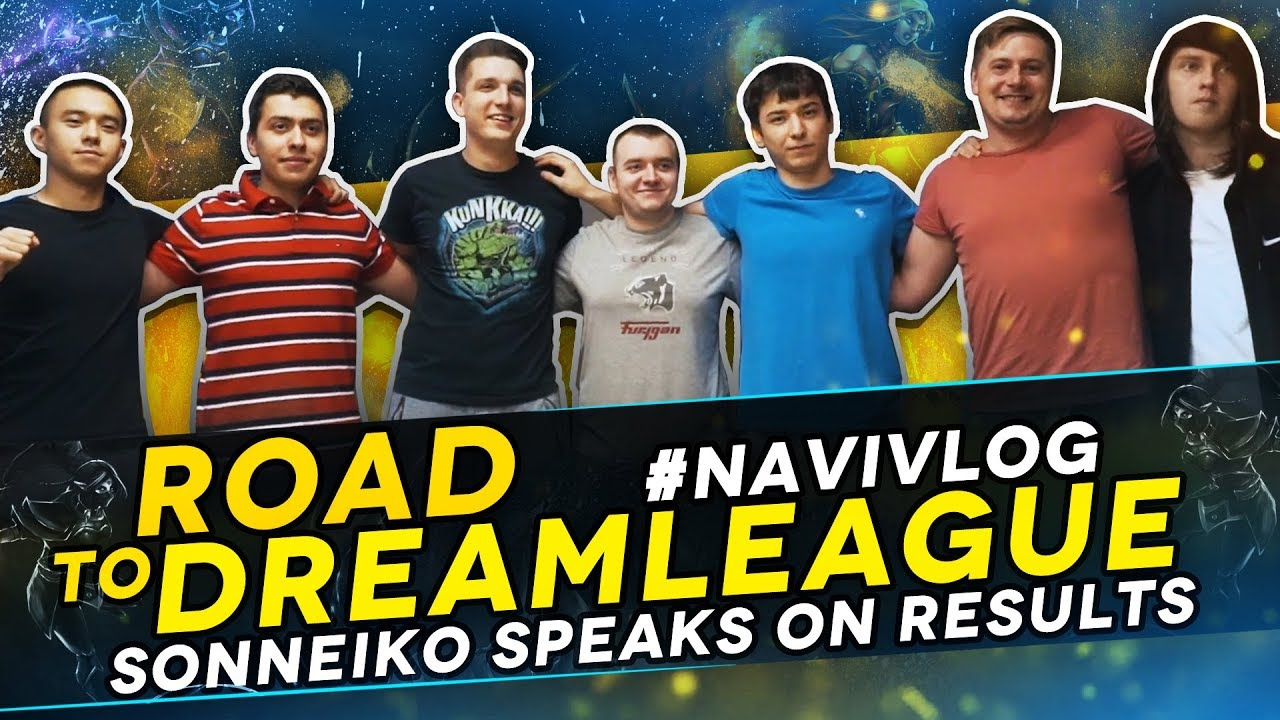 #NAVIVLOG: Road to DreamLeague S10. SoNNeikO speaks on results