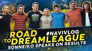 #NAVIVLOG: Road to DreamLeague S10. SoNNeikO speaks on results