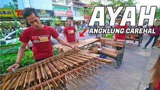 Download Lagunya Bagus!! AYAH - Cover Carehal Angklung Malioboro (Angklung Carehal) Dangdut Koplo Mp3