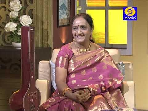 Singer Geeta Sathyamurthy in Shubhodaya Karnataka | DD Chandana
