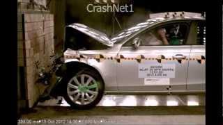 2013 Audi A4 / S4 | Frontal Crash Test by NHTSA | CrashNet1