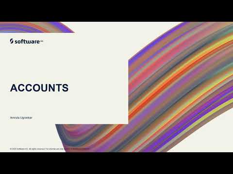 Accounts | webMethods Integration Tutorials
