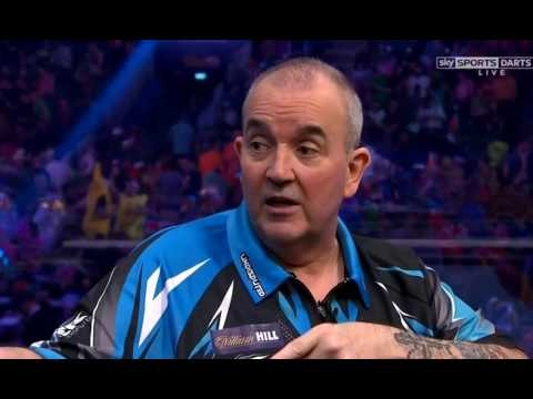 Phil Taylor Incident with Wayne Mardle - 2017 PDC World Championship