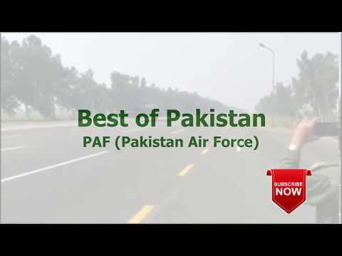 Pakistan Air Force Awesome Aircraft Landing - Updated 2019