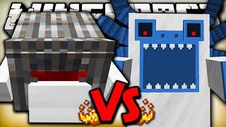 CYCLOPS GOLEM VS ALPHA YETI - Minecraft Batalha de Mobs - Twilight Forest, Kingdoms of the Overworld