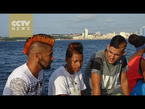 Outlandish hairstyles become top trend for Cuban men