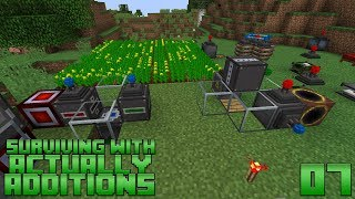 Surviving With Actually Additions :: E07 - Crystallized Canola Power Generation