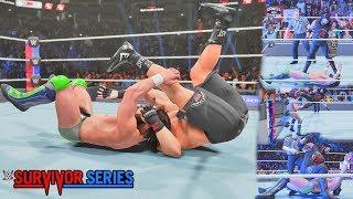 WWE 2K19: Brock Lesnar vs Daniel Bryan Survivor Series 2018 ft. AJ Styles Attack (Custom Scenario)