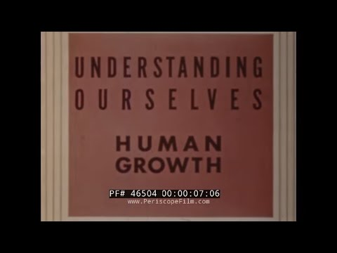 "GROUNDBREAKING HUMAN REPRODUCTION & SEX ED FILM ""HUMAN GROWTH"" 46504"