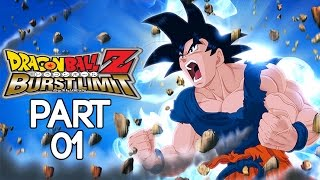 Dragon Ball Z: Burst Limit - Walkthrough Part 1, Gameplay Xbox 360