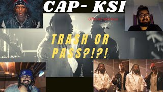 KSI - CAP FT OFFSET MUSIC VIDEO REACTION! (TRASH OR PASS?!?)