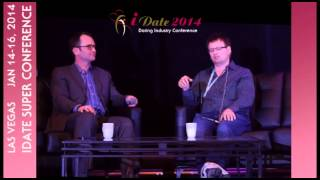 OPW Exclusive: Interview with Markus Frind CEO of Plenty of Fish on Jan 15, 2014 at iDate Las Vegas