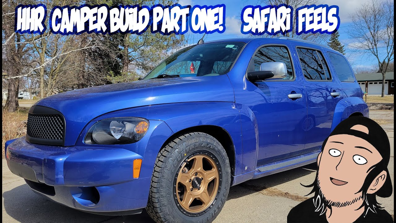 Download HHR Camper part 1  upgrading wheels for a easy lift
