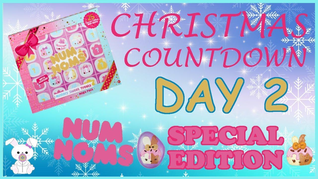 christmas countdown 2017 day 2 num noms sugarbunnyhops christmas countdown 2017 2