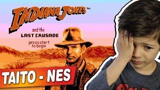 INDIANA JONES E A ÚLTIMA CRUZADA - NES - TAITO - Gameplay Comentado em Português PT-BR
