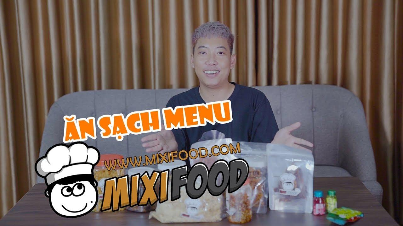 ĂN SẠCH MENU MIXI FOOD ĐỒ ĂN VẶT SỐ 1 CHO GAME THỦ