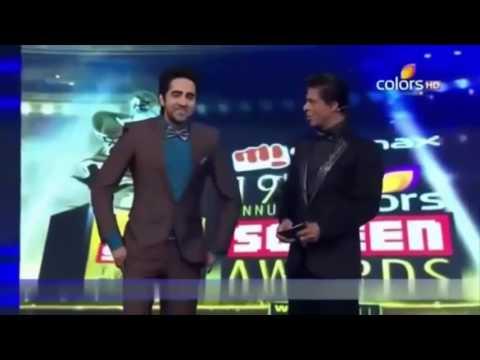 Shahrukh Khan & Ayushman Khurana non stop comedy in Awards show_High