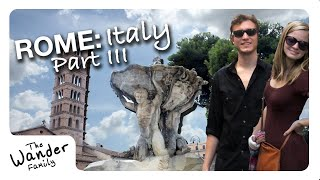 ROME: Pickpockets in Italy! | Travel Vlog Ep. 06