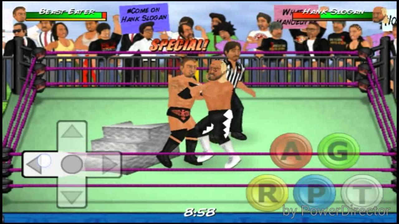 WR2D Best MOD For Android - Titans of Wrestling + LINK IN