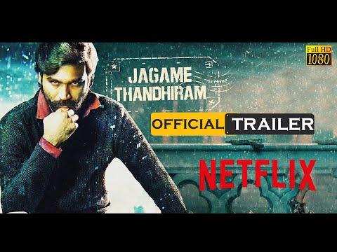 Jagame Thandhiram Official Trailer Review   Dhanush, Aishwarya Lekshmi   Karthik Subbaraj   Netflix