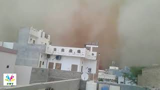 DUST STORM seen in india | HUGE SAND STORM | DUST STORM in rajasthan