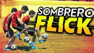 Sombrero ESPECTACULAR de NEYMAR y RONALDINHO!/Sombrero Flick/Trucos/regates/jugadas de futbol!