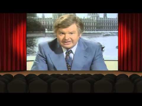 Benny Hill As News Anchorman