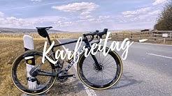 Karfreitag - Allein auf dem Rennrad