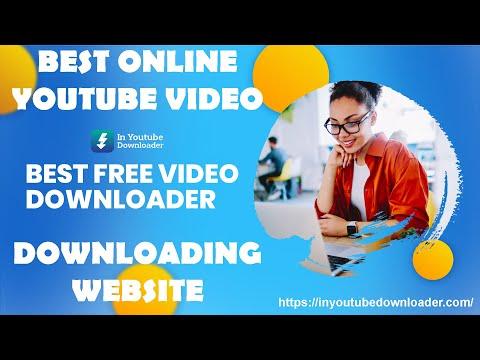 BEST ONLINE YOUTUBE VIDEO DOWNLOADING WEBSITE ||  IN YOUTUBE DOWNLOADER