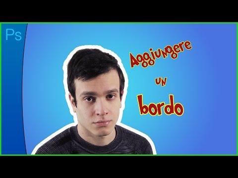 Imparo Da Zero #17 (PHOTOSHOP) Effetto Bordo - Stroke