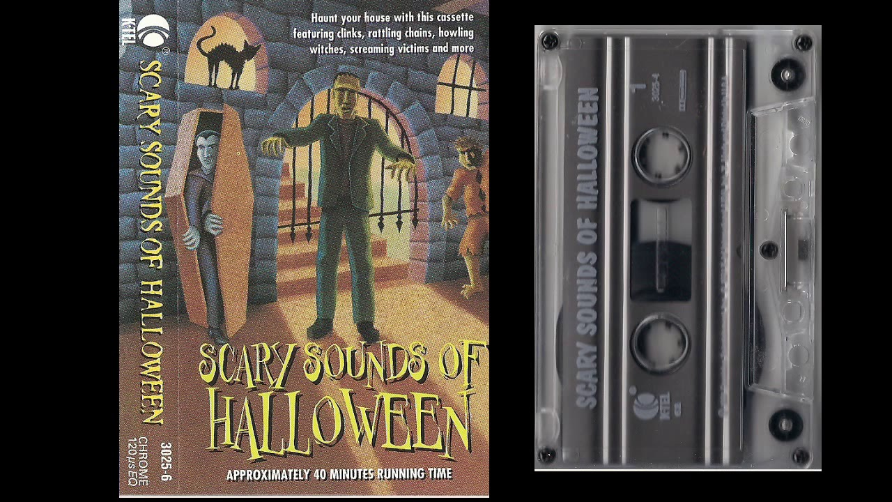 Scary Sounds Of Halloween Cassette Tape