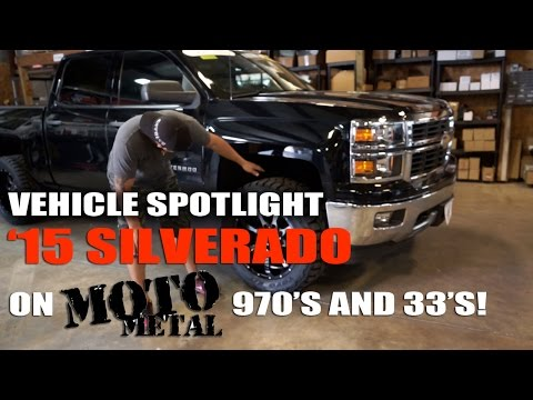 Spotlight - 2015 Chevy Silverado 1500 Leveled with Moto Metal 970's and 33's