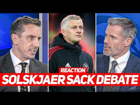 NEVILLE vs CARRAGHER | Sack Solskjaer Debate After Man Utd 0-5 Liverpool | REACTION