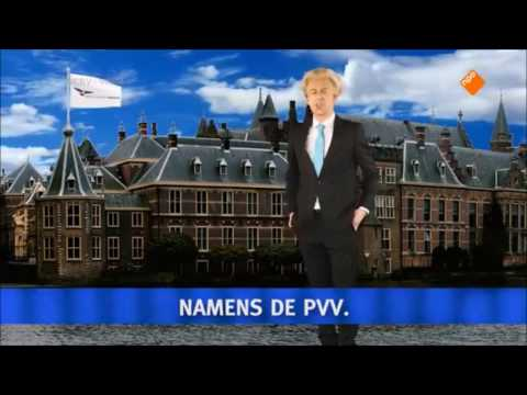 Rap Battle: Mark Rutte vs. Geert Wilders (Pauw en Jinek 10-3-2017)