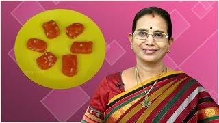 Bombay Halwa | Mallika Badrinath Recipes | Diwali sweet recipes