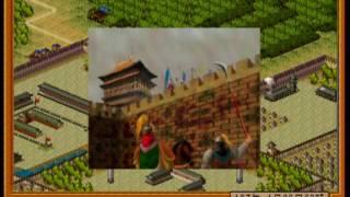 昇龍三国演義 シナリオ3を劉備を選びセーブせずにプレイします。 197年4月2日~197年5月16日.