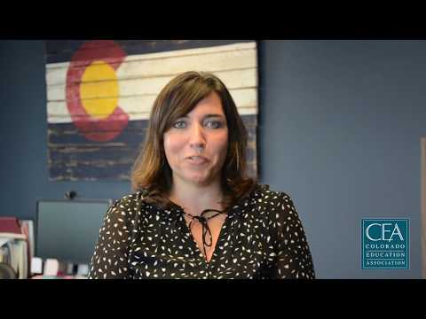 Colorado Education Association President, Amie Baca-Oehlert