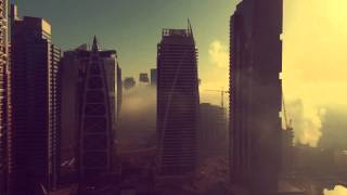 Dubai fog in Timelapse from Jumeirah Lakes Towers
