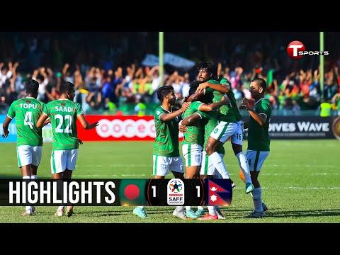 Highlights | Bangladesh vs Nepal | Saff Championship - 2021
