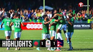 Highlights   Bangladesh vs Nepal   Saff Championship - 2021