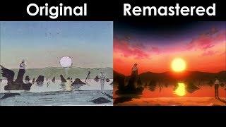 Neon Genesis Evangelion S01E24 Preview Comparison (On-Air Version)